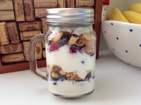 Breakfast On The Go- Yogurt Parfait