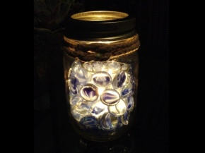 Mason Jar Votive Holder