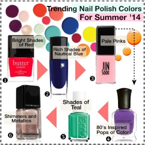 2014 Summer Nail Trends
