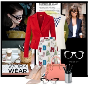 Work Wear: Bold Colors & Patterns